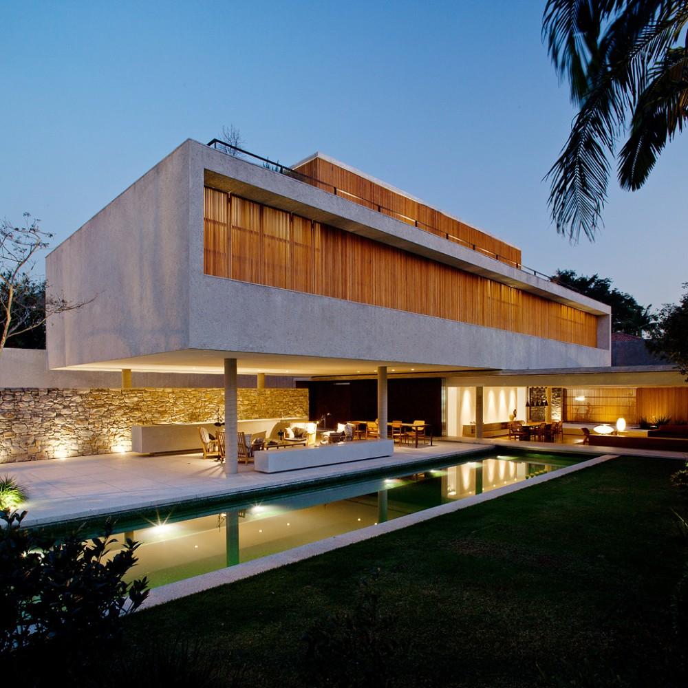 House 6 by marcio kogan housevariety
